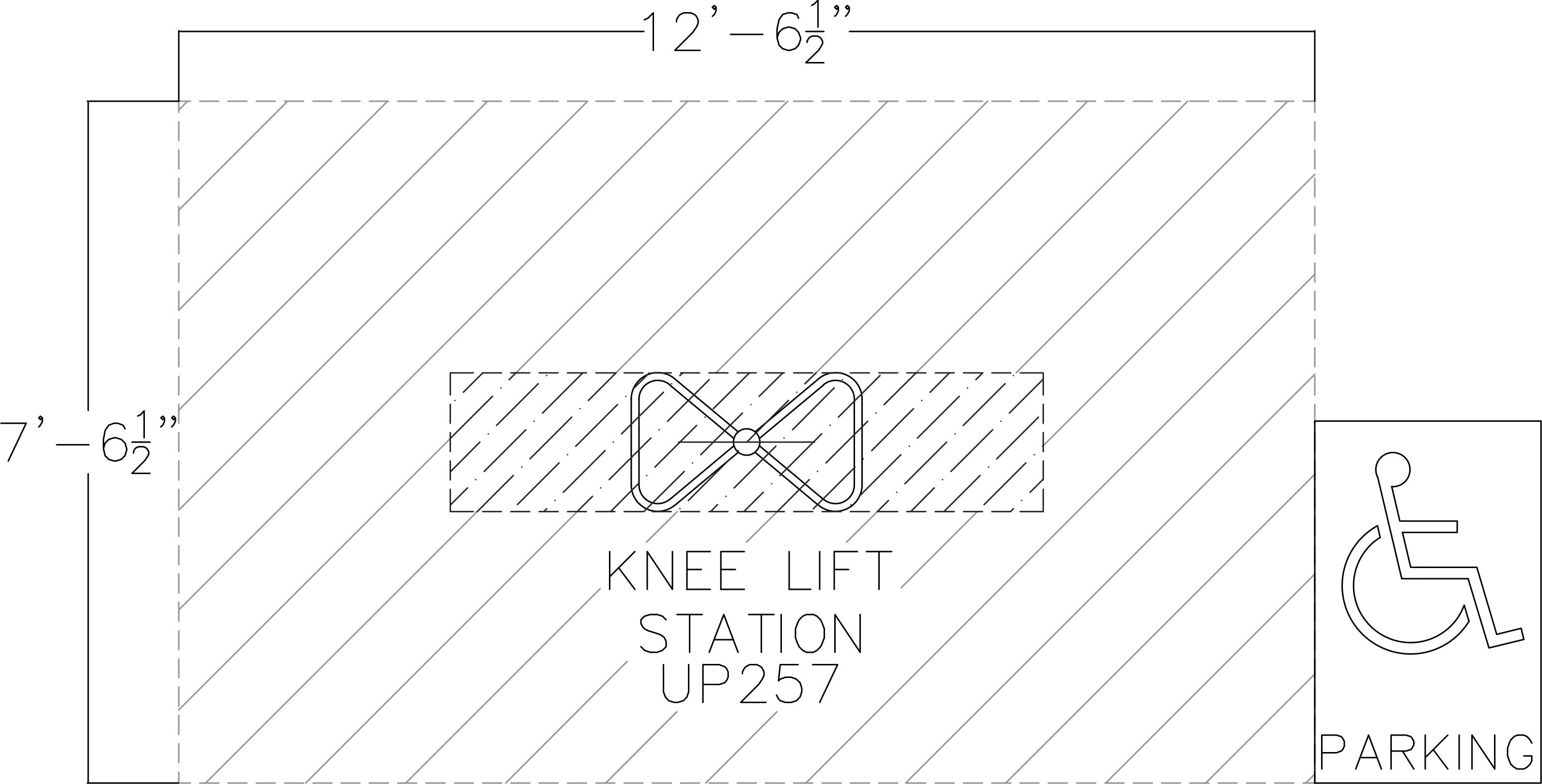Knee Lift Station