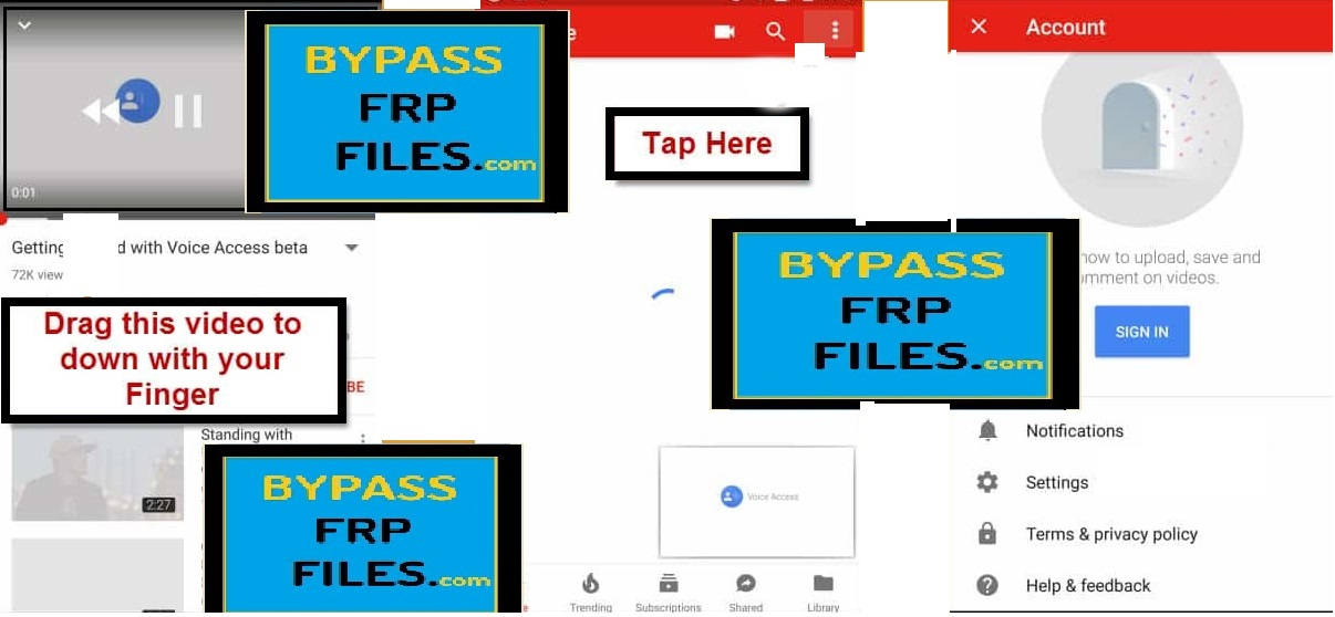 Bypass FRP ZTE Z835 Android 7 Without PC (Google Account) - FRP