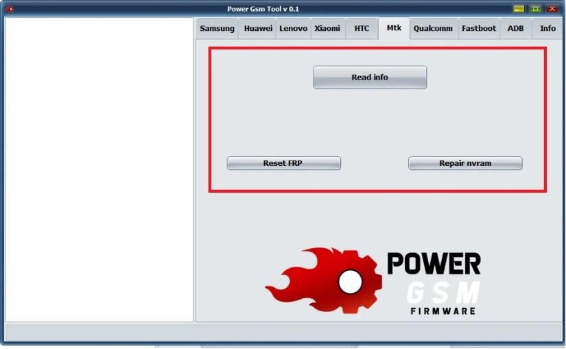Power GSM tool v0.1