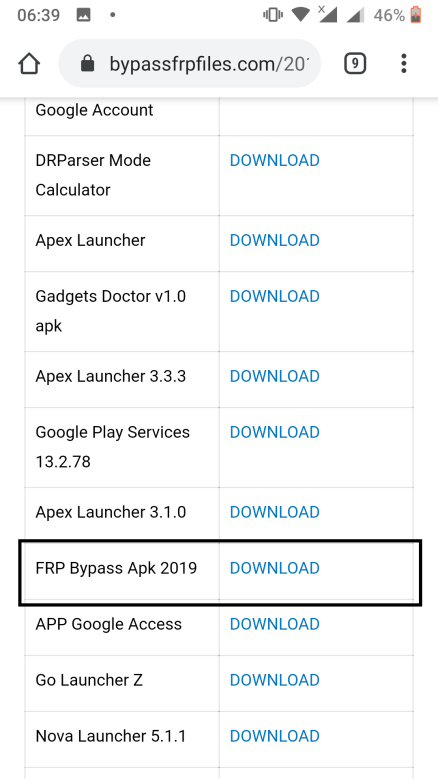 Download FRP Bypass
