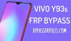 Vivo Y93s FRP Unlock