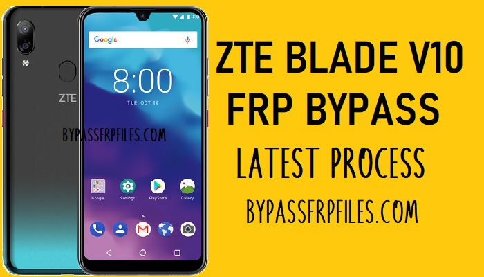 ZTE Blade V10 FRP Bypass