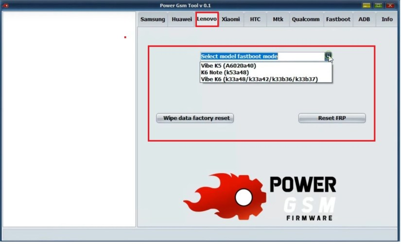 Power GSM FRP Tool