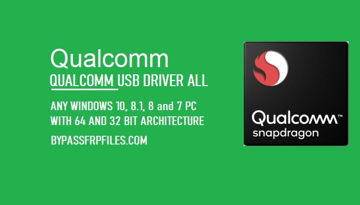 Download Android Qualcomm USB Drivers Latest for Windows 7/8/10