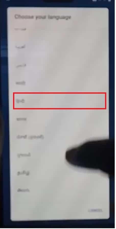 Change Hindi laguage to Nokia FRP Bypass unlock