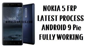 Nokia 5 FRP Bypass - Unlock Google account Android Pie Lock