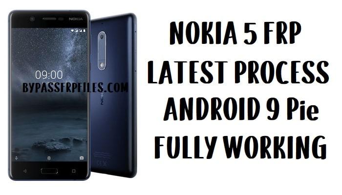 Nokia 5 FRP Bypass - Unlock Google account Android Pie Lock