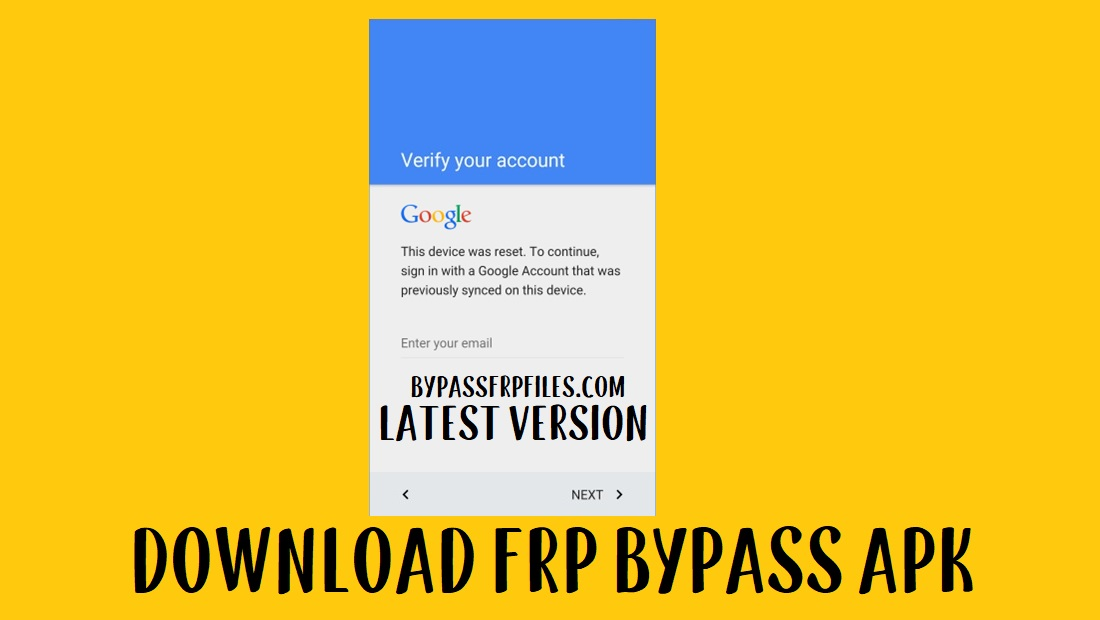 FRP Bypass APK Free Download 2020 | 5 latest Working FRP Unlock Methods