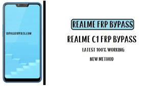 Realme C1 FRP Bypass - Unlock Google Account RMX1811 (Android-8.1)