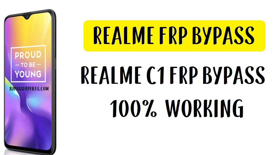 Realme U1 FRP Bypass - Unlock Google Account RMX1811 (Android-9)
