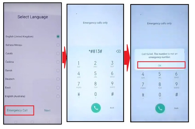 Tep emergency call to Realme/ oppo FRP bypass - Unlock