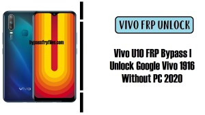 Vivo U10 FRP Bypass | Unlock Google Vivo 1916 Without PC 2020