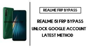 Realme 5i FRP Bypass | Google Unlock in 1min New