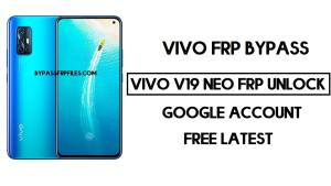 Vivo V19 Neo FRP Unlock | Bypass Google Account Android 10 Free