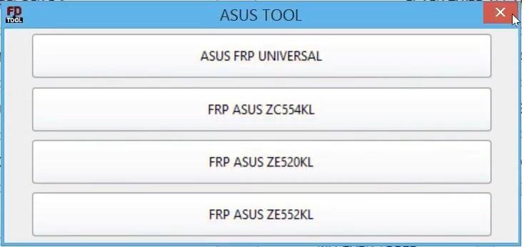 Asus FRP Unlock Tool
