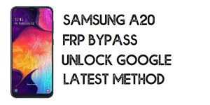 How to Bypass FRP Samsung A20 | Unlock Google Account - Android 10 (Without PC)
