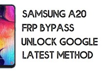How to Bypass FRP Samsung A20 | Unlock Google Account – Android 10 (Without PC)