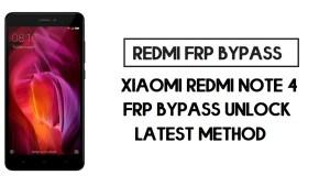 Xiaomi Redmi 4A FRP Bypass | How to Unlock Google Account- MIUI 10