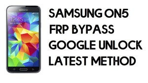 How to Samsung On5 FRP Bypass | Unlock SM-G550FY Google Account – Without PC (Android 7.1)