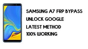 Bypass FRP Samsung A7 (2018)   Unlock Google SM-A750 – (Android 10)