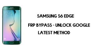 Samsung S6 Edge FRP Bypass | Unlock SM-G925 Google – (Android 7.1)