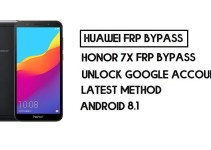How to Honor 7X FRP Bypass | Unlock Google Account – Without PC (Android 8.1)