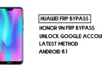 How to Honor 9N FRP Bypass | Unlock Google Account – Without PC (Android 8.1)