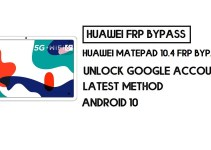 How to Huawei MatePad 10.4 FRP Bypass | Unlock Google Account – Without PC (Android 10)