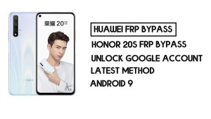 How to Honor 20S FRP Bypass | Unlock Google Account–Without PC