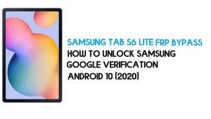 Samsung Tab S6 Lite FRP Unlock | Bypass Android 10 December 2020