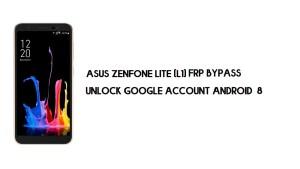 Asus ZenFone Lite L1 FRP Bypass | Unlock Google – Android 8 (No PC)