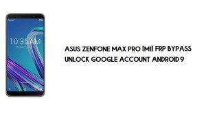 Asus Zenfone Max Pro (M1) ZB601KL/ZB602K FRP Bypass | How to Unlock Google Verification (Android 9)- Without PC