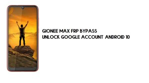 Gionee Max FRP Bypass | Unlock Google Account–Android 10 (2021)