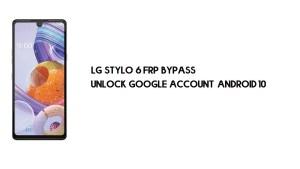 LG Stylo 6 (LMQ730TM) FRP Bypass | Unlock Google – Android 10
