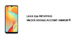 Lava Z66 FRP Bypass File | Unlock Google Account- One-Click [SPD Tool]