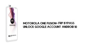 Motorola One Fusion Plus FRP Bypass | Unlock Google Account (Android 10)- Without PC