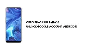 Oppo Reno4 FRP Bypass (Google Account Unlock) Emergency Code