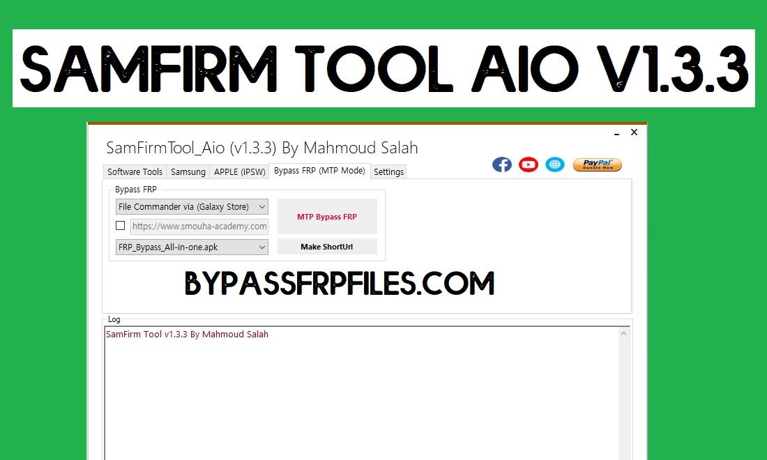 Download SamFirm FRP Tool V1.3.3 Free FRP Unlock Tool for Samsung
