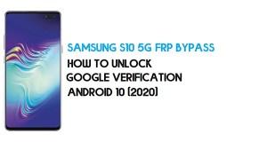 Samsung S10 5G FRP Bypass | How to Unlock Samsung SM-G977U/B/N Google Verification – Android 10 (2020)