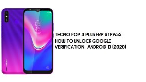 Tecno Pop 3 Plus FRP Bypass   Unlock Google Verification – Android 9