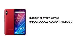 UMIDIGI F1 Play FRP Bypass | Unlock Google Account–Android 9 (FREE)