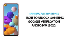 Samsung A21s FRP Unlock | Bypass SM-A217F/M Android 10 -Latest