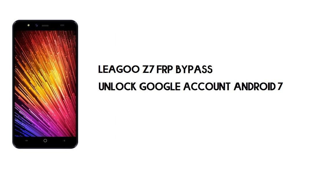 Leagoo Z7 FRP Bypass | Unlock Google Account – Android 7 (New Free)