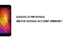 Leagoo Z7 FRP Bypass | Unlock Google Account (Android 7)- Without PC [Fix YouTube Update]