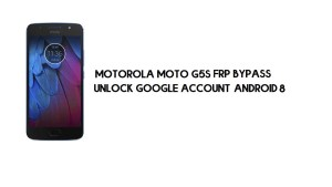 Motorola Moto G5S FRP Bypass | How to Unlock Google Verification (Android 8.1)- Without PC