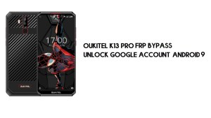 Oukitel K13 Pro FRP Bypass Without PC | Unlock Google – Android 9