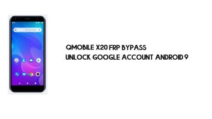 Qmobile X20 FRP Bypass | How to Unlock Google Verification (Android 9)- Without PC