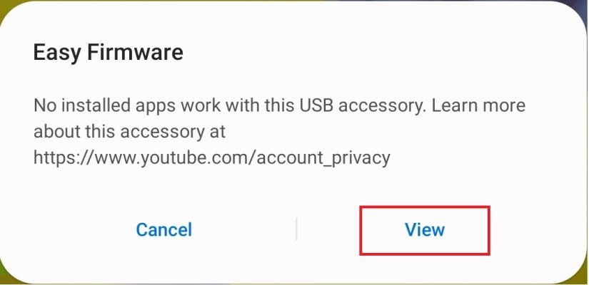 Tap on View Samsung FRP Bypass Unlock Google Account