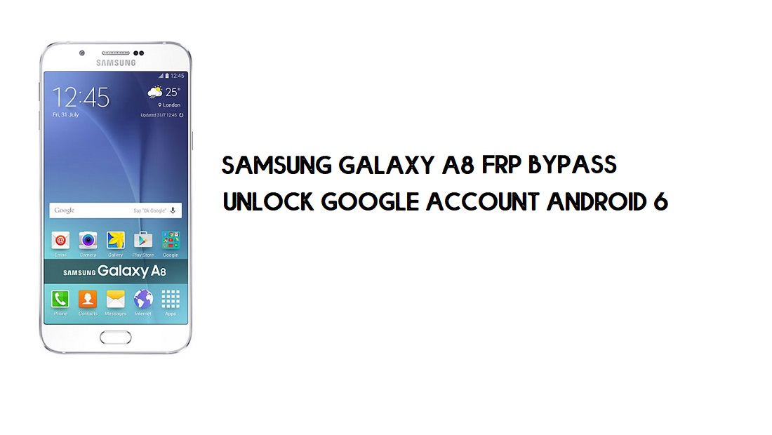Unlock FRP Samsung A8 | Google Account Bypass SM-A800 [Without PC]