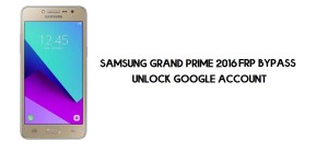 Samsung Grand Prime 2016 FRP Bypass | Google Account Unlock SM-G532F [Without Computer] Android 6.0